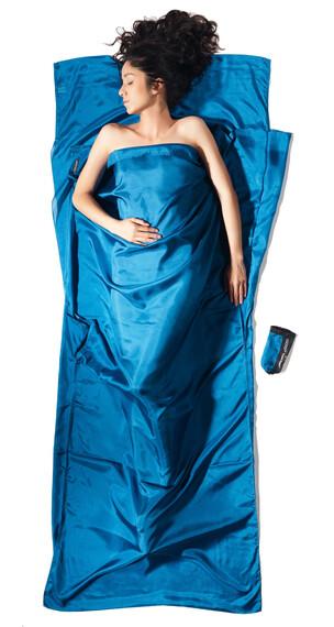 Cocoon TravelSheet - Sac de couchage - Silk bleu